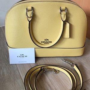 EUC Yellow Coach Mini Sierra Bag